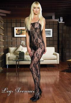 LEG AVENUE: catsuit Romantic Rose.