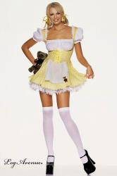 LEG AVENUE: costume Yellow Gingham Goldilocks.