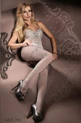 Ballerina: pantyhose with ramage on the sides mod. 298