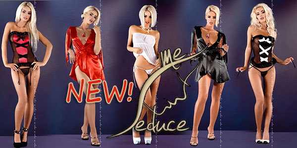 NEW ITEMS by Lingerie ME SEDUCE. Made in Europe