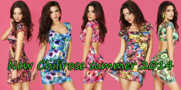 New products Chilirose! Clubwear and beachwear.